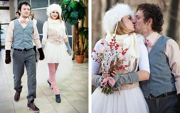 Vestimentatie cununie civila nunta reala Iustina si Cosmin Bacau