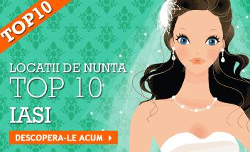 TOP10! Restaurante si sali nunta Iasi